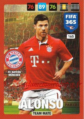 2016-17 - Panini Adrenalyn XL FIFA 365 - N° 165 - Xabi ALONSO (FC Bayern Munich)