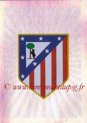 2015-16 - Topps UEFA Champions League Stickers - N° 176 - Logo Club Atlético de Madrid