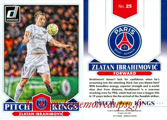 N° PK25 - Zlatan IBRAHIMOVIC (Pitch Kings)