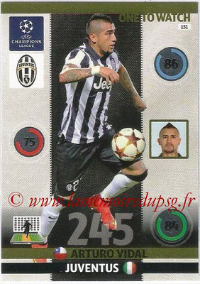 2014-15 - Adrenalyn XL champions League N° 151 - Arturo VIDAL (Juventus FC) (One to watch)
