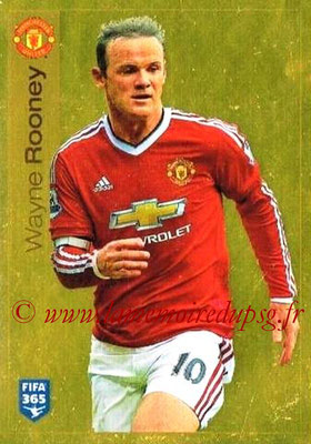 2015-16 - Panini FIFA 365 Stickers - N° 329 - Wayne ROONEY (Manchester United FC)