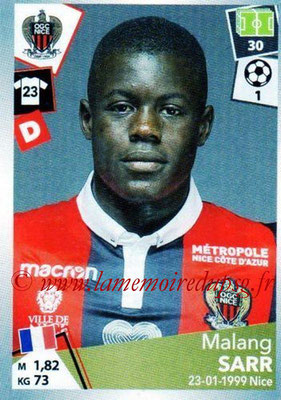 2017-18 - Panini Ligue 1 Stickers - N° 344 - Malang SARR (Nice)