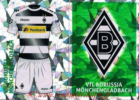 2016-17 - Topps UEFA Champions League Stickers - N° QFA 1-2 - Logo + Maillot Domicile (VFL Borussia Mönchengladbach)