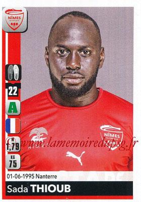 2018-19 - Panini Ligue 1 Stickers - N° 346 - Sada THIOUB (Nîmes)