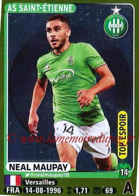 2015-16 - Panini Ligue 1 Stickers - N° 427 - Neal MAUPAY (AS Saint-Etienne) (Top Espoir)