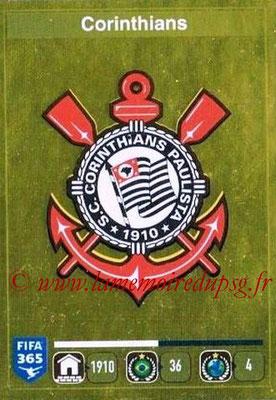 2015-16 - Panini FIFA 365 Stickers - N° 161- Ecusson SC Corinthians
