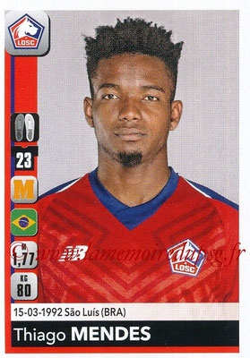 2018-19 - Panini Ligue 1 Stickers - N° 162 - Thiago MENDES (Lille)
