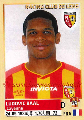 2014-15 - Panini Ligue 1 Stickers - N° 127 - Ludovic BAAL (RC Lens)
