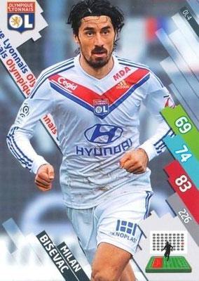 N° 116 - OL-04 - Milan BISEVAC (2011-12, PSG > 2014-15, Lyon)