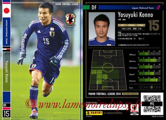 Panini Football League 2014 - PFL06W - N° 009 - Yasuyuki KONNO (Japon)