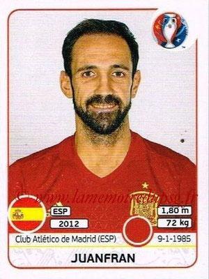 Panini Euro 2016 Stickers - N° 357 - JUANFRAN (Espagne)