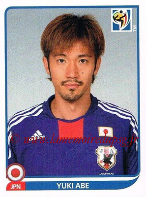 2010 - Panini FIFA World Cup South Africa Stickers - N° 381 - Yuki ABE (Japon)