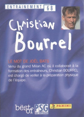 N° 068 - Christian BOURREL (Verso)