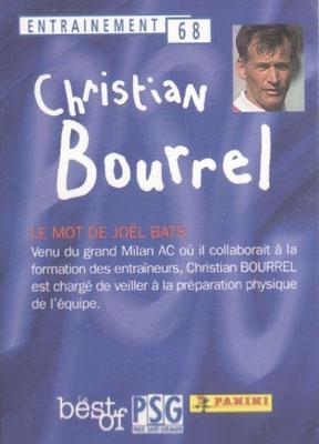 N° 068 - Christian BOURREL (Verso)