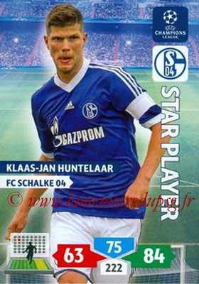 2013-14 - Adrenalyn XL champions League N° 251 - Klaas-Jan HUNTELAAR (FC Schalke 04) (Star Player)