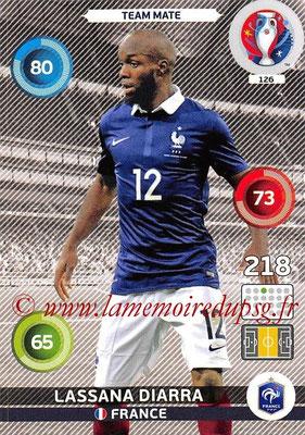 Panini Euro 2016 Cards - N° 126 - Lassana DIARRA (France)