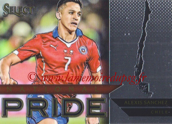 2015 - Panini Select Soccer - N° NP07 - Alexis SANCHEZ (Chili) (National Pride)