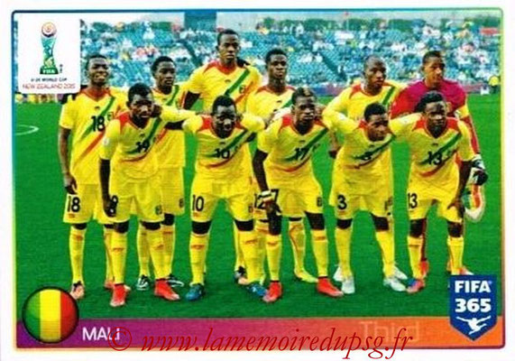 2015-16 - Panini FIFA 365 Stickers - N° 048 - Mali (FIFA U20 World Cup)