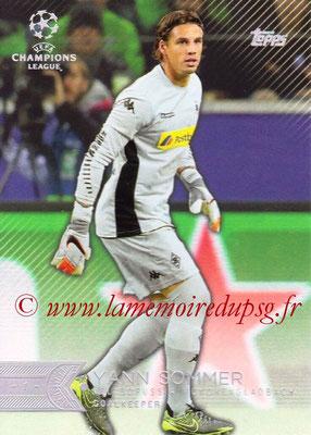 2015-16 - Topps UEFA Champions League Showcase Soccer - N° 100 - Yann SOMMER (VfL Borussia Mönchengladbach)