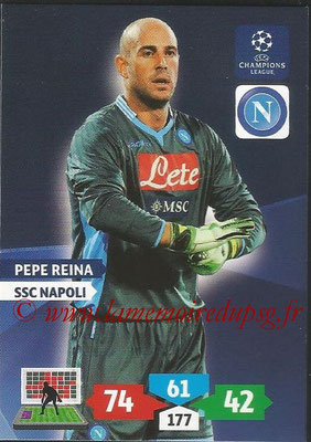 2013-14 - Adrenalyn XL champions League N° 190 - Pepe REINA (SSC Napoli)