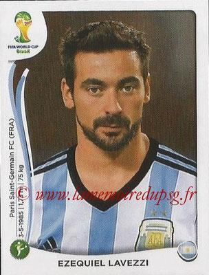 2014 - Panini FIFA World Cup Brazil Stickers - N° 426 - Ezequiel LAVEZZI (Argentine)