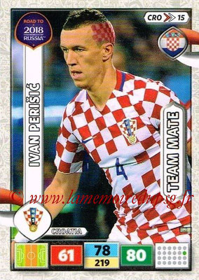 2018 - Panini Road to FIFA World Cup Russia Adrenalyn XL - N° CRO15 - Ivan PERISIC (Croatie)
