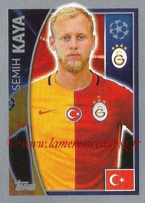 2015-16 - Topps UEFA Champions League Stickers - N° 193 - Semih KAYA (Galatasaray AS)