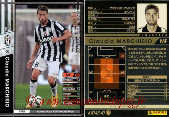 2014-15 - WCCF - N° A074 - Claudio MARCHISIO (Juventus FC)