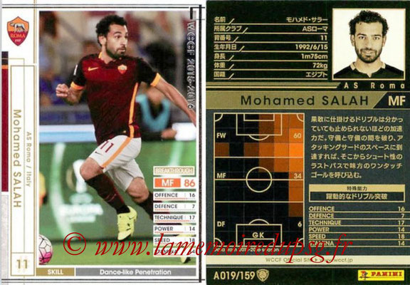 2015-16 - Panini WCCF - N° A019 - Mohamed SALAH (AS Roma)