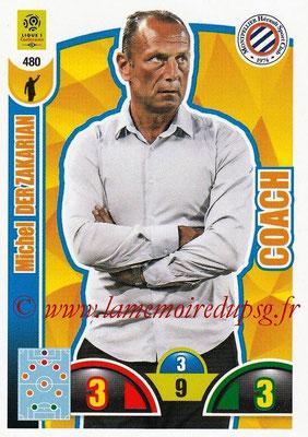 2018-19 - Panini Adrenalyn XL Ligue 1 - N° 480 - Michel DER ZAKARIAN (Montpellier) (Coach)