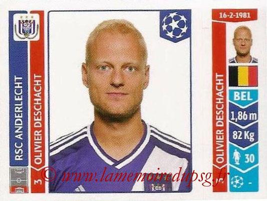 2014-15 - Panini Champions League N° 311 - Olivier DESCHACHT (RSC Anderlecht)