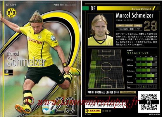 Panini Football League 2014 - PFL08 - N° 090 - Marcel SCHMELZER (Borussia Dortmund) (Star +)