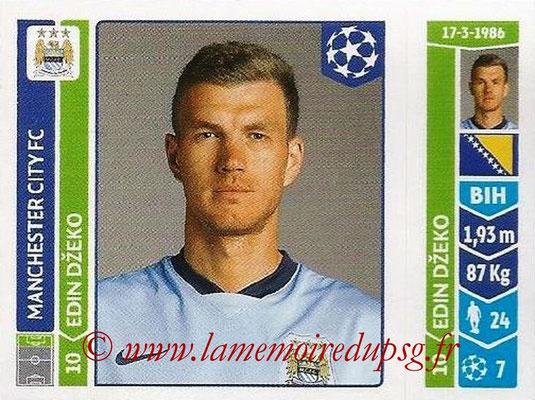 2014-15 - Panini Champions League N° 373 - Edin DZEKO (Manchester City FC)
