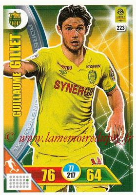 2017-18 - Panini Adrenalyn XL Ligue 1 - N° 223 - Guillaume GILLET (Nantes)