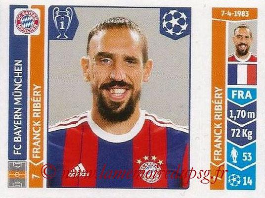 2014-15 - Panini Champions League N° 354 - Franck RIBERY (FC Bayern Munich)