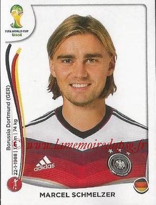 2014 - Panini2014 - Panini FIFA World Cup Brazil Stickers - N° 495 - Marcel SCHMELZER (Allemagne) FIFA World Cup Brazil Stickers - N° 495 - Marcel SCHMELZER (Allemagne)