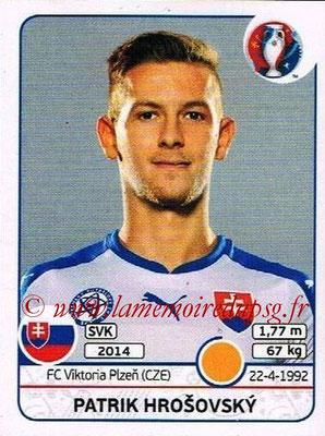 Panini Euro 2016 Stickers - N° 221 - Patrik HROSOVSKY (Slovénie)