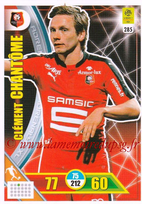 2017-18 - Panini Adrenalyn XL Ligue 1 - N° 285 - Clément CHANTOME (Rennes)