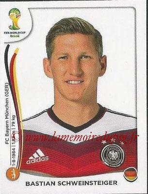 2014 - Panini FIFA World Cup Brazil Stickers - N° 497 - Bastian SCHWEINSTEIGER (Allemagne)