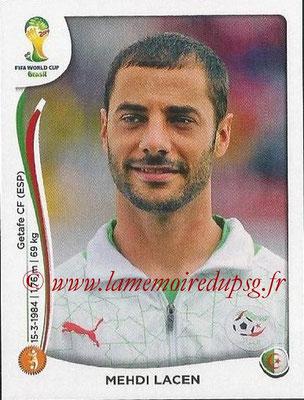 2014 - Panini FIFA World Cup Brazil Stickers - N° 594 - Mehdi LACEN (Algérie)