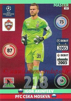 2014-15 - Adrenalyn XL champions League N° 135 - Igor AKINFEEV (PFC CSKA Moscou) (Master)