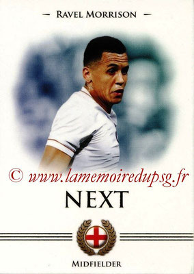 2014 - Futera World Football Unique - N° 099 - Ravel MORRISON (Midfielder) (Next)