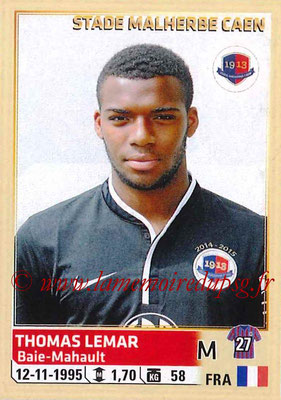 2014-15 - Panini Ligue 1 Stickers - N° 063 - Thomas LEMAR (SM Caen)