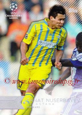 2015-16 - Topps UEFA Champions League Showcase Soccer - N° 078 - Tanat NUSERBAYEV (FC Astana)
