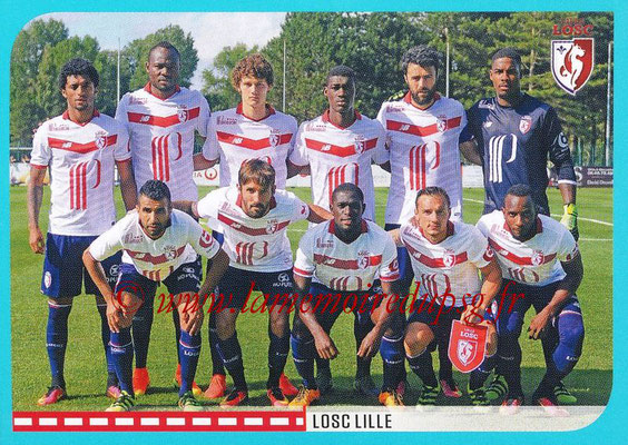 2016-17 - Panini Ligue 1 Stickers - N° 256 - Equipe Lille