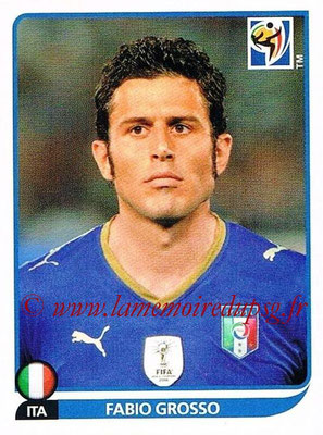 2010 - Panini FIFA World Cup South Africa Stickers - N° 415 - Fabio GROSSO (Italie)