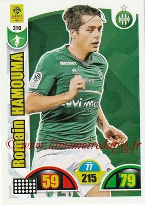 2018-19 - Panini Adrenalyn XL Ligue 1 - N° 316 - Romain HAMOUMA (Saint-Etienne)