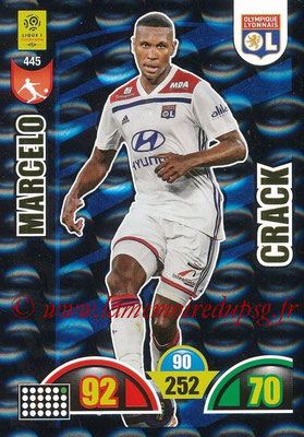 2018-19 - Panini Adrenalyn XL Ligue 1 - N° 445 - MARCELO (Lyon) (Crack)