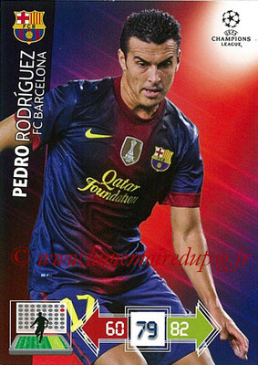 2012-13 - Adrenalyn XL champions League N° 039 - Pedro RODRIGUEZ (FC Barcelone)