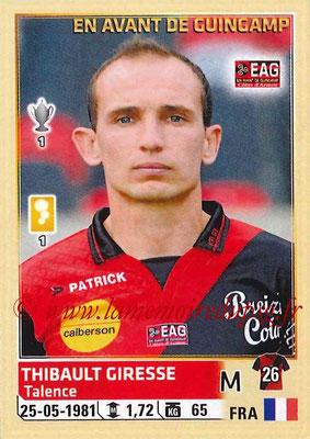 2014-15 - Panini Ligue 1 Stickers - N° 110 - Thibault GIRESSE (EA Guingamp)